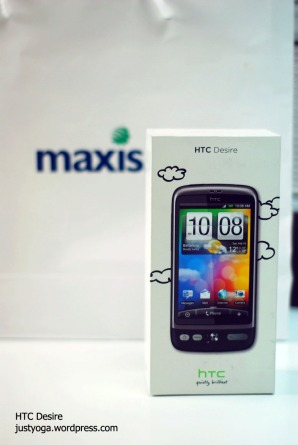 HTC Desire by Maxis