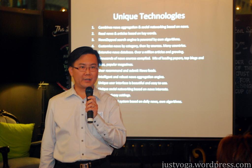 Edison Wong, CTO of NewsZapped Media